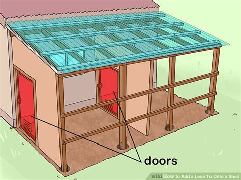 6 Ways To Add A Lean To Onto A Shed