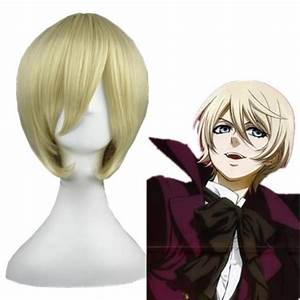 Cosplay Wig - Black Butler - Alois Trancy – UNIQSO