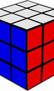 Rubik Cube 3 Clip Art at Clker.com - vector clip art ...
