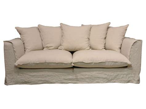 canapé 3 places fixe canapé fixe 3 places en tissu cocoon coloris