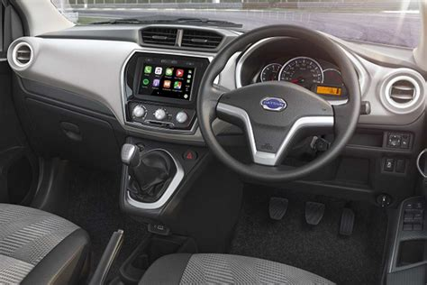 datsun  touchscreen interior  autobics