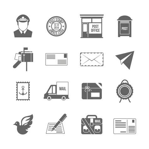 icones bureau icônes de bureau de poste télécharger des vecteurs
