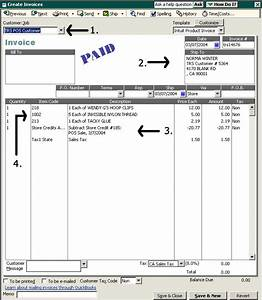 Quickbooks invoice template invoice example for Quickbooks templates location