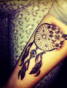 21+ Nice Dreamcatcher Tattoos Designs