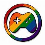 Controller Rainbow Icon Deviantart Gamer Games Clip