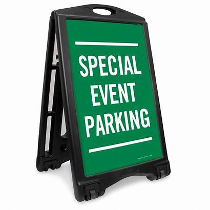 Parking Event Special Sidewalk Arrow Portable Bidirectional