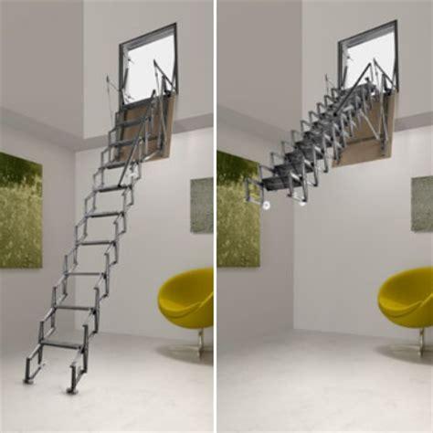 scala estensibile da soffitta idea casa scale retrattili