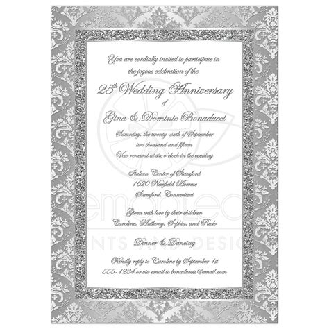 19 Best Of Invitation Card for Silver Jubilee Wedding