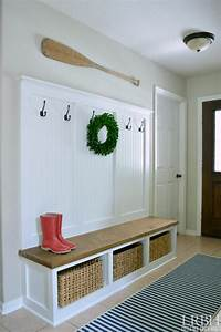 25, Best, Diy, Entryway, Bench, Projects, Ideas, And, Designs, For, 2020
