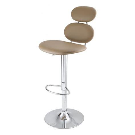 cdiscount chaise de bar tabouret de bar taupe gabrielle id 39 clik achat vente