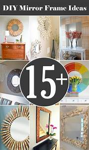 15, Creative, Diy, Mirror, Frame, Ideas