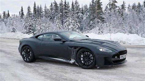 2019 Aston Martin Vanquish Caught Cruising In A Winter