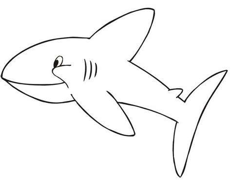 giochi gratis per bambini piccoli da colorare semplice squalo da colorare per bambini piccoli disegni