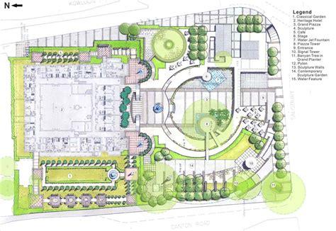 landscape design plans contemporary landscape plan arch dsgn