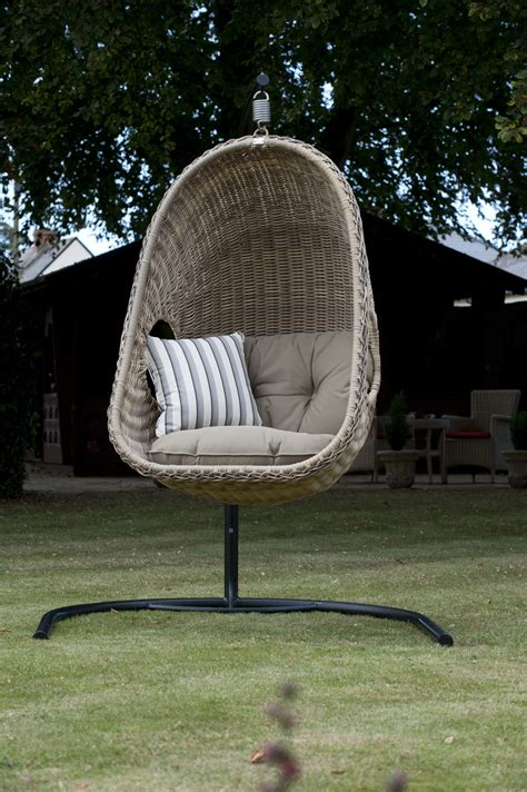 patio swing chair outdoor wicker swing chair and comfortable furniture