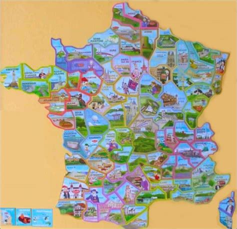 Carte De Region Le Gaulois by D 233 Part Aimants Magnets D 233 Partements Le Gaulois 2008