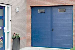 Beau porte de garage de plus porte double battant for Porte de garage enroulable de plus porte interieur