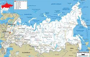 Maps of Russia | Detailed map of Russia with cities and ...