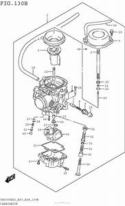 Carburetor  Dr650sel5 E28  For 2015 Suzuki Dr650