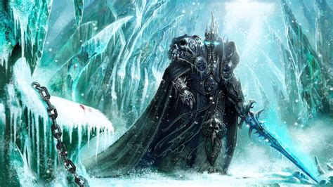 Animated Lich King Wallpaper - wow villains animated wallpaper http www desktopanimated