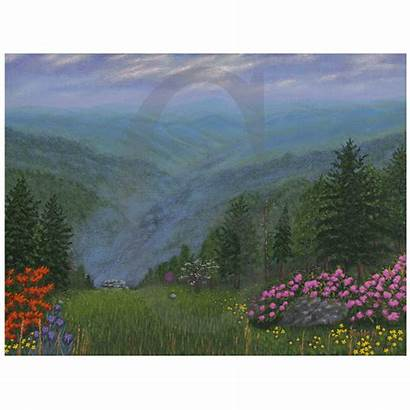 Spring Smoky Mountain Golden Painting Lee William