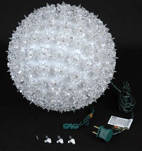 christmas light spheres home depot clear 10 quot starlight sphere 150 light christmas ball