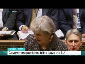 UK's EU Exit: Government published bill to leave the EU ...