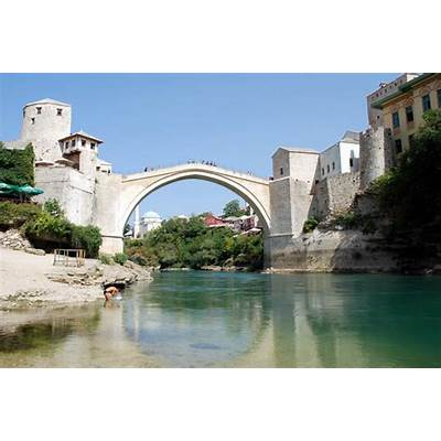 Stari Most – Mostar Bosnia and Herzegovina - Atlas Obscura