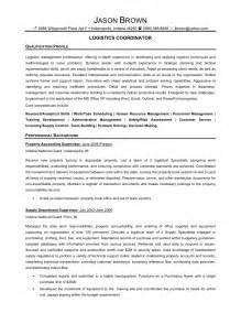 import logistics manager resume senior logistic management resume logistics coordinator 1 resume