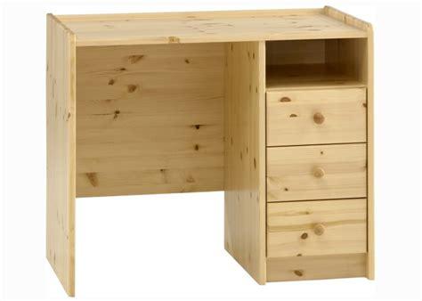 bureau en pin caisson de bureau en pin