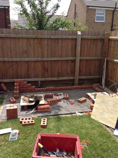 cool diy backyard brick barbecue ideas amazing diy