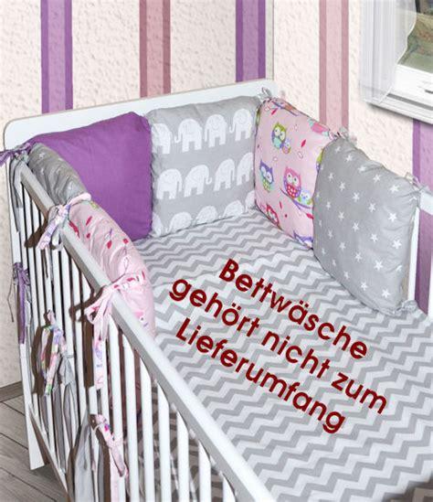 Kissen Für Babybett by 6 X Kissen Als Nestchen Nestchen Mit Kopfschutz F 252 R