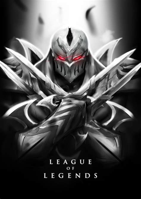 Zed League Of Legends Fanart Artoflol