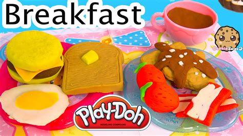 play doh cuisine playdoh food breakfast maker molds playset play doh