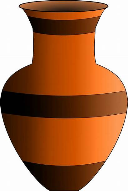 Vase Clipart Pottery Animated Artifact Clip Transparent