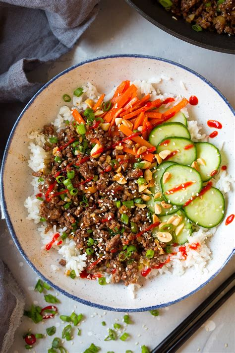 korean beef bowls cooking classy