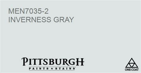 paint color inverness gray