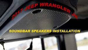 How To Replace Stock Soundbar Speakers On 2017 Jeep