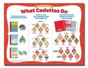 Girl Scout Cadette Badges List