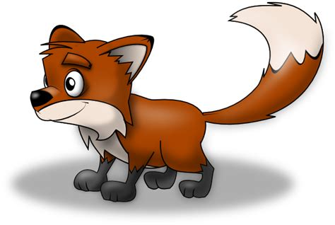 Free Cartoon Fox Clip Art