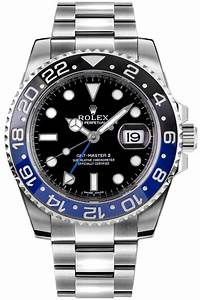 Rolex 116710BLNR GMT Master II Men39s Oystersteel Watch