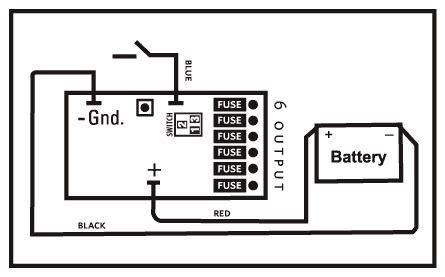 12 volt switch panel wiring diagram 35 wiring diagram