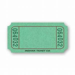 Green Blank Ticket Roll - Tickets & Wristbands - Amols ...