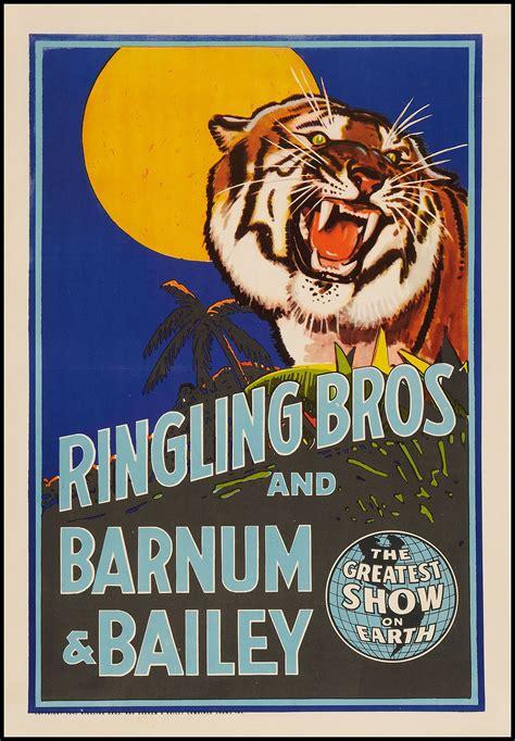Ringling Bros & Barnum & Bailey Circus Poster #typehunter ...
