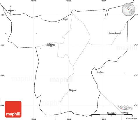 blank simple map  jakarta