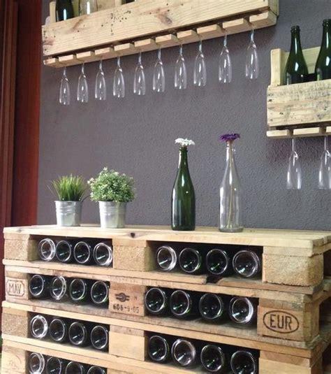 chambrer le vin 1000 idées sur le thème casiers à bouteilles palette sur