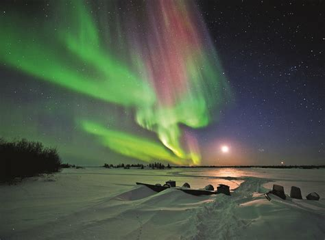 northern lights canada the northern lights and chic heli skiing in canada how