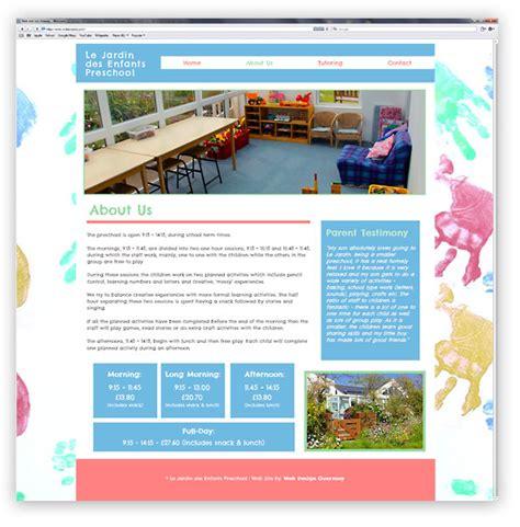 le jardin preschool guernsey website web design guernsey 894   jardin web design 2