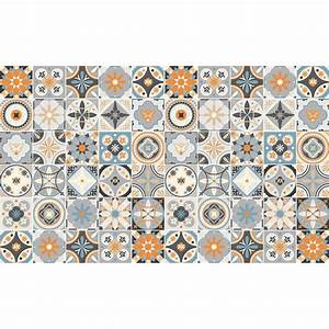 Stickers Carreaux De Ciment Cuisine : stickers carrelage mural cuisine ~ Melissatoandfro.com Idées de Décoration