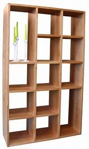 Bibliothèque Murale Bois : composition murale biblioth que bas 4 tiroirs milieu 4 ~ Premium-room.com Idées de Décoration